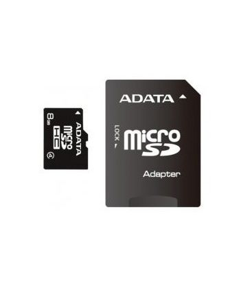 Card de memorie Adata microSDHC AUSDH8GCL4-RA1, Capacitate 8 GB, Clasa 4