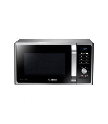 Cuptor cu microunde Samsung MS23F301TAS, Putere 800 W, Capacitate 23 l, Digital, Argintiu