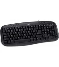 Tastatura Genius KB-M200 PS/2 black