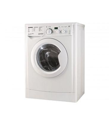 Masina de spalat rufe slim INDESIT EWSD 61051 W EU, 1000 rpm, 6 KG, Clasa A+, Alb