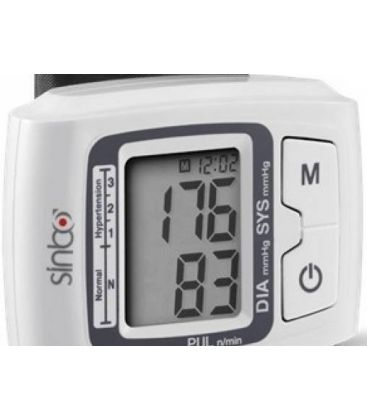 Tensiometru SINBO SBP-4608, LCD, Oprire Automata, Alb