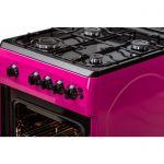 Aragaz LDK 5060 GRAI Purple LPG,  Aprindere electrica, Grill, Rotisor, Iluminare, 3 ani garantie, Roz