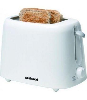 Prajitor de paine WESTWOOD TA 8149,1300 W, 2 Felii, Alb
