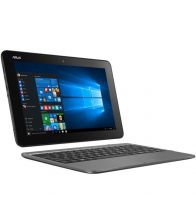 Laptop 2-in-1 ASUS 10.1' TRANSFORMER BOOK T101HA, Procesor Intel® Atom™ x5-Z8350, 2GB, 32GB eMMC, GMA HD 400, Win 10 Home, Grey