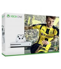Consola MICROSOFT XBONE ONE Slim 500 GB, Alb + Joc FIFA 17