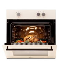 Cuptor incorporabil LDK A64ENRM, Mecanic, Timer, Bej