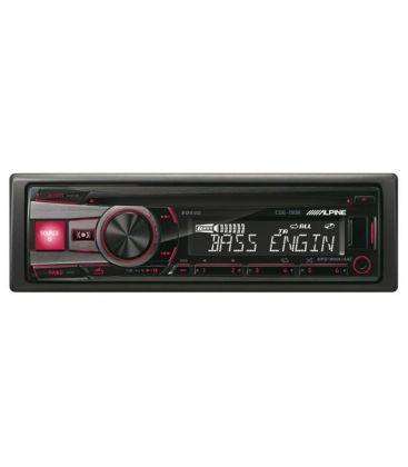 Radio CD auto ALPINE CDE-190R, 4x50W, USB, AUX, CD, Panou frontal detasabil