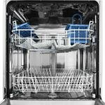 Masina de spalat vase INDESIT DFG26B1 NX, 13 Seturi, 6 Programe, Clasa A+, 60 cm, Inox