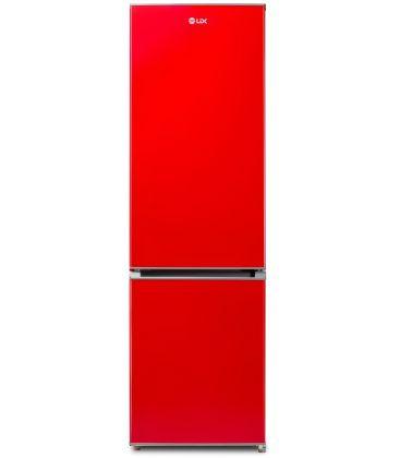 Combina frigorifica LDK CF 290 R, Clasa A+, Capacitate 260 l, H 180 cm, Rosu