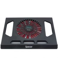 "Cooler laptop SPACER SP-NC9, 15.6"", Negru"