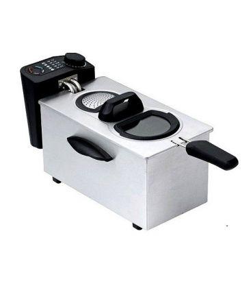 Friteuza ARIELLI AD-35BW, Putere 2000 W, Capacitate 3,5 l, Gri