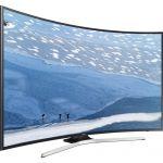Televizor LED Curbat Smart SAMSUNG 55 KU 6172 , 138 cm, 4K Ultra HD, Negru