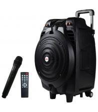 Boxa portabila Bluetooth AKAI SS023A-X10, Putere 50 W,  USB, Bluetooth,  Microfon, Negru