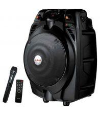 Boxa Portabila Activa AKAI SS022A-X6, Putere 30 W, USB Bluetooth, Cititor de carduri, Radio FM, Microfon, Negru