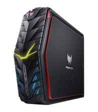 Sistem Gaming PC Acer Predator G1-710, Intel® Core™ i5-6400, 8GB, 2TB + 256GB SSD, GeForce GTX 1060 3GB, Windows 10 Home, Negru