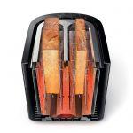 Prajitor de Paine PHILIPS Viva Collection HD2637/90, 800W, 7 setari, Functie dezghetare, Fante XL, Inox