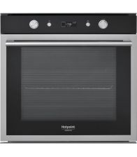 Cuptor incorporabil Hotpoint Ariston FI6 864 SH IX HA, Electric, Multifunctional, Clasa A+, Hidrolitic, Inox/Negru