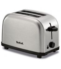 Prajitor de paine Tefal TT330D30 Ultra Mini, Putere 700W, Capacitate 2 felii, 6 niveluri, Inox