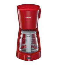 Cafetiera Bosch CompactClass Extra TKA3A034, Putere 1100 W, Capacitate 1.25 l, 10 Cesti, Rosu