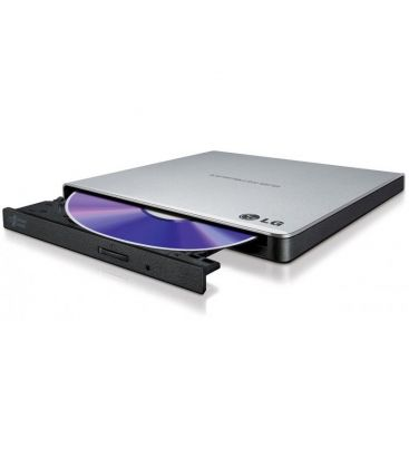 Unitate optica externa LG GP57ES40, Slim, 8x, USB 2.0, Argintiu