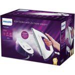 Statie de calcat Philips FastCare Compact GC6730/30, 2400 W, Talpa Ceramica, 1.3l, 5.2 bar, 110 g/min, Alb/Mov