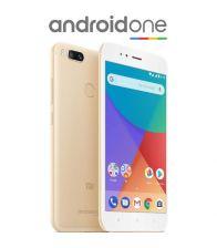 Telefon mobil Xiaomi Mi A1, Octa Core, 64GB, 4GB RAM, Dual SIM, Tri-Camera, 4G, Gold