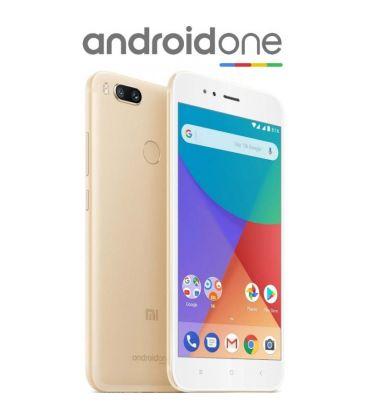 Telefon mobil Xiaomi Mi A1, Octa Core, 64GB, 4GB RAM, Dual SIM, Tri-Camera, 4G, Black