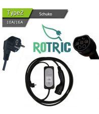 Statie portabila Rotric, 16 amperi, Mufa 62196-2
