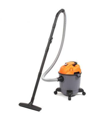 Aspirator fara sac ROHNSON R123 Wet&Dry 1200W, 18 L, Filtru Hepa, Functie suflare, Gri/Galben