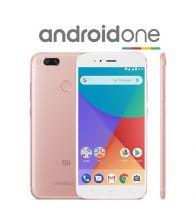 Telefon mobil Xiaomi Mi A1, Octa Core, 64GB, 4GB RAM, Dual SIM, Tri-Camera, 4G, Rose Gold