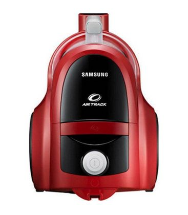 Aspirator fara sac Samsung VCC45T0S3R, 1.3 l, 850 W, Air Track, Tub telescopic, Rosu