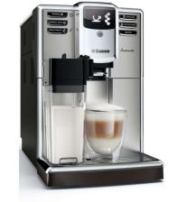 Espressor automat Saeco Incanto HD8917/09, 1850W, Recipient lapte integrat, AquaClean, 15 bar, 1.8l, Inox/Negru