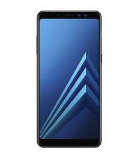Telefon mobil Samsung Galaxy A8 (2018), Single Sim, Octa Core, 32GB, 4GB RAM, 4G, Tri-Camera, Negru