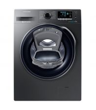 Masina de spalat Samsung Eco Bubble AddWash WW90K6414QX, Clasa A+++, Capacitate 9 kg, 1400 RPM, Inverter, Inox