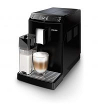 Espressor super-automat Philips EP3550/00, Optiune cafea macinata, 5 bauturi, Negru