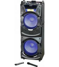 Boxa activa fixa AKAI DJ-S5H, Dual USB, Card SD, Bluetooth, Microfon wireless si telecomanda, 400W