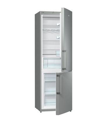 Combina frigorifica Gorenje RK6191AX, Clasa A+, Capacitate 321 l, H 185 cm, Argintiu