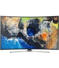 Televizor curbat Smart LED Samsung 55MU6202, 138 cm, Ultra HD 4K, Negru