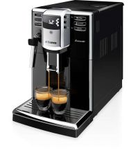 Espressor automat Saeco Incanto HD8911/09, 1.8l, 1850W,  5 setari intensitate aroma, 15 bar, Negru