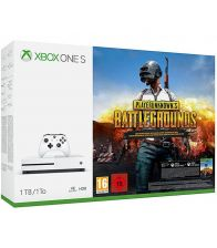 Consola MICROSOFT Xbox One S 1TB, Alb +  PLAYERUNKNOWNS BATTLEGROUNDS