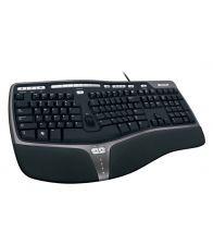 Tastatura Microsoft Natural Ergo 4000, USB, Negru