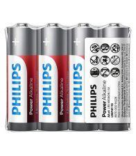 Baterii Philips Power Alkaline AA 4-foil