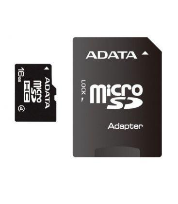 Card de memorie Adata microSDHC AUSDH16GCL4-RA1, 16GB, Clasa 4 + adaptor SD