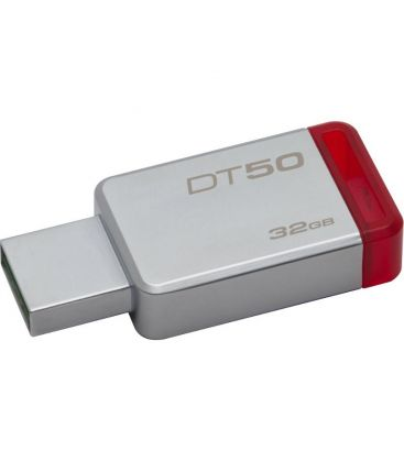 Memorie externa Kingston DataTraveler 50 32GB USB 3.0 Metal/Red