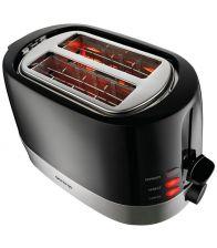 Prajitor de paine Gorenje T850BK, 850W, 2 felii de paine, 7 nivele, Negru
