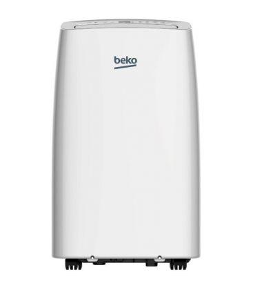 Aparat de aer conditionat portabil Beko BEPB12H, 12000 BTU, Clasa A+, Afisaj LED, Timer, Alb