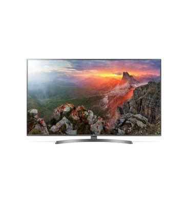 Televizor Smart LED LG 50UK6750, 126 cm, Ultra HD 4K, Argintiu