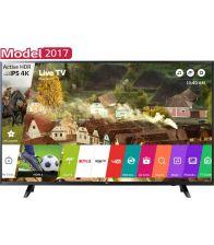 Televizor LED Smart LG 65UJ620V, 164 cm, 4K Ultra HD, Negru