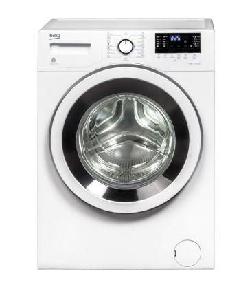 Masina de spalat rufe Beko WTV9632X0, Clasa A+++, Capacitate 9 KG, 1200 RPM, Durable heater, Display LED, Alb