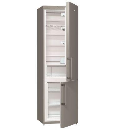 Combina frigorifica Gorenje RK6191AX, Clasa A+, Capacitate 321 l, 185 cm, Argintiu